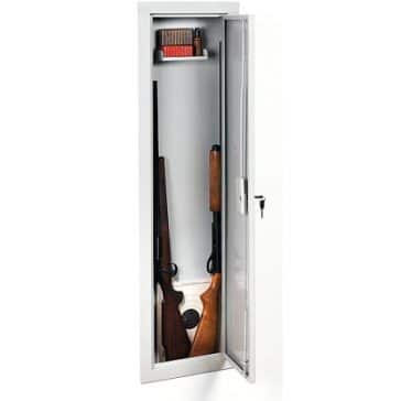 the Stack-On IWC-55 Full-Length in-wall gun safe