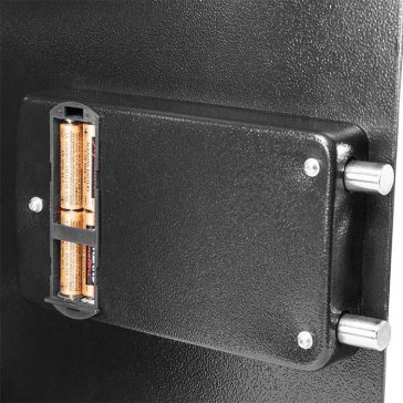 an image of the barska AX12038 in-wall gun safe locking system